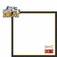 Drumline: We Got The Beat 2 Piece Laser Die Cut Kit