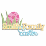 Easter Fun: Custom Family Easter Laser Die Cut