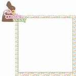Easter Fun: Easter Candy 2 Piece Laser Die Cut Kit