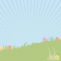 Easter Fun: Egg Hunt 12 x 12 Paper