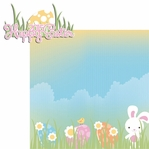 Easter Fun: Happy Easter 2015 2 Piece Laser Die Cut Kit