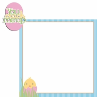 Easter Fun: You Crack Me Up 2 Piece Laser Die Cut Kit