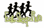 Eat. Sleep. Run Laser Die Cut