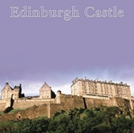 Edinburgh Castle Title 12 x 12 Paper
