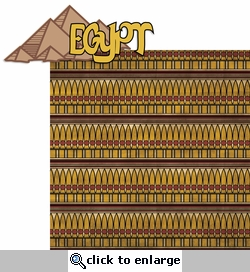 Egypt: Egypt 2 Piece Laser Die Cut Kit