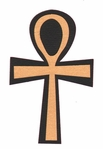 Egypt: The Ankh Laser Die Cut
