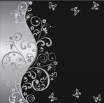 Elegant Silver Background 12 x 12 Paper