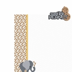 Elephant: Peanut  2 Piece Laser Die Cut Kit