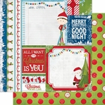 Elf Magic: Dot 12 x 12 Double-Sided Cardstock