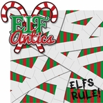 Elf On The Shelf: Elf Antics 2 Piece Laser Die Cut Kit
