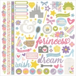 Enchanted Fundamental 12 x 12 Cardstock Stickers
