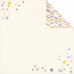 Enchanted: Wish Upon A Star Silver Foil 12 x 12 Paper