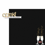 Engaged: Clink to 2 Piece Laser Die Cut Kit