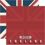 England 12 x 12 Double-Sided Cardstock