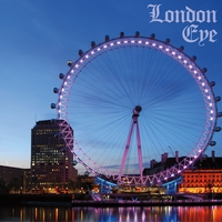 England: London Eye 12 x 12 Paper