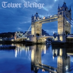 England: Tower Bridge 12 x 12 Paper