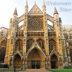 England: Westminster Abbey 12 x 12 Paper