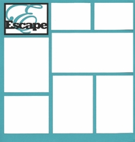 Escape 12 x 12 Overlay Laser Die Cut