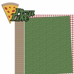 Extra Cheese: Pizza Love 2 Piece Laser Die Cut Kit