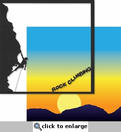 Extreme Sports: Rock Climbing 12 x 12 Overlay Quick Page Laser Die Cut