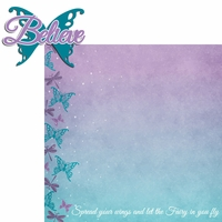 Fairy: Believe 2 Piece Laser Die Cut Kit