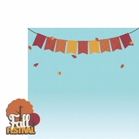 Fall Bucket List: Fall Festival 2 Piece Laser Die Cut Kit