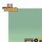 Fall Bucket List: Hayride 2 Piece Laser Die Cut Kit