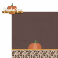 Fall Bucket List:Pumpkin Spice 2 Piece Laser Die Cut Kit
