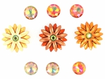 Fall Collection: Autumn Sunset Buttons