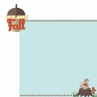 Fall Critters: Nuts about Fall 2 Piece Laser Die Cut Kit