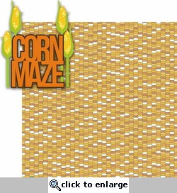 Fall Fun: Corn Maze 2 Piece Laser Die Cut Kit