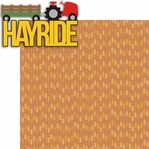 Fall Fun: Hayride 2 Piece Laser Die Cut Kit