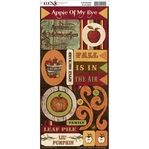 Fall Harvest Cardstock Stickers