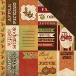 Fall Harvest: Cutouts 12 x 12 Double-Sided Cardstock