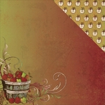 Fall Harvest: Orchard 12 x 12 Double-Sided Cardstock