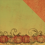 Fall Harvest: Perfect Pick 12 x 12 Double-Sided Cardstock