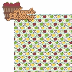 Fall Memories:Apple Picking 2 Piece Laser Die Cut Kit