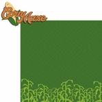 Fall Memories: Corn Maze 2 Piece Laser Die Cut Kit