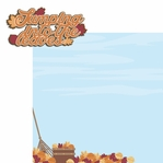 Fall Memories: Jumping into the Leaves 2 Piece Laser Die Cut Kit