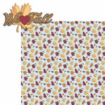 Fall Memories: We heart Fall 2 Piece Laser Die Cut Kit