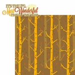 Falling Leaves: Most Wonderful 2 Piece Laser Die Cut Kit