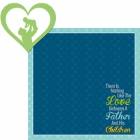 Family: A Father's Love 2 Piece Laser Die Cut Kit