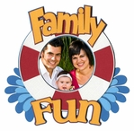 Family Fun Photo Frame Laser Die Cut