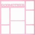 Family: Godmother 12x12 Overlay Laser Die Cut