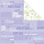 Family Matters: Mom 12 x 12 Double-Sided Cardstock