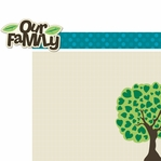 Family: Our Family 2 Piece Laser Die Cut Kit