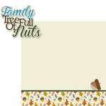 Family: Tree Full Of Nuts 2 Piece Laser Die Cut Kit