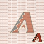 Fanatic: Arizona Diamondbacks 12 x 12 Paper