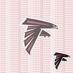 Fanatic: Atlanta Falcons 12 x 12 Paper