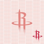 Fanatic: Houston Rockets 12 x 12 Paper